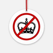 Anti Crowns Ornament (Round)