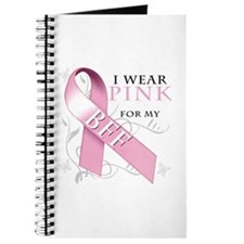 I Wear Pink for my BFF Journal