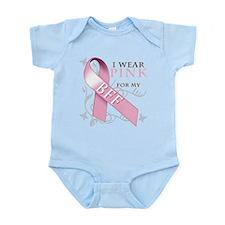 I Wear Pink for my BFF Infant Bodysuit