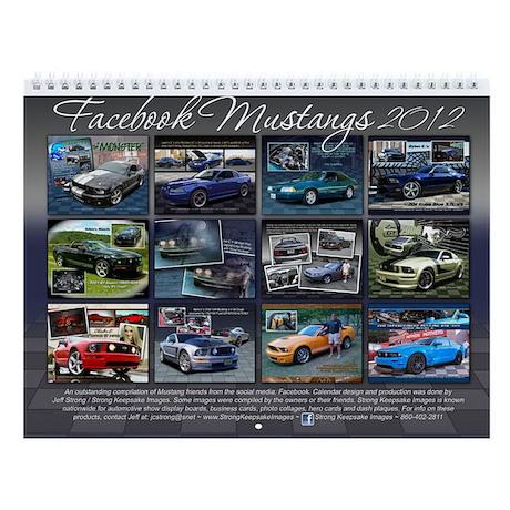 2013 Mustang V1Facebook Wall Calendar