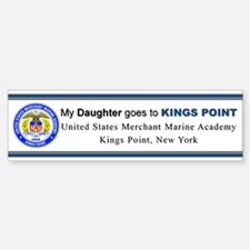 My DAUGHTER goes to KP Bumper Bumper Sticker