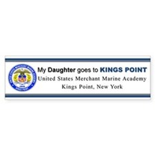 My DAUGHTER goes to KP Bumper Sticker