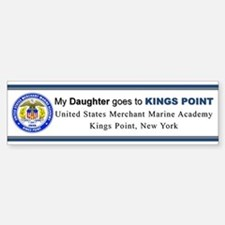 My DAUGHTER goes to KP Sticker (Bumper)