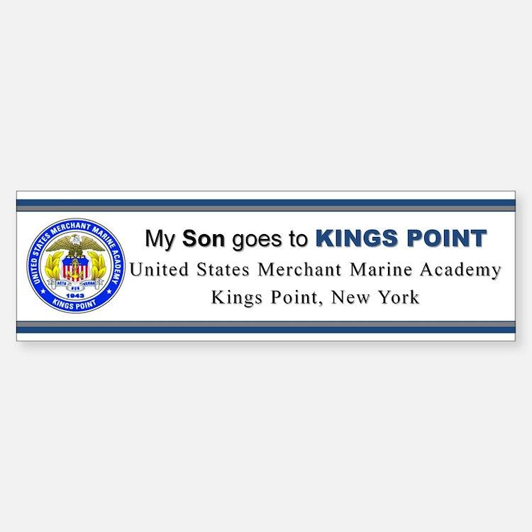My SON Goes to KP Bumper Bumper Sticker