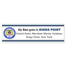 My SON Goes to KP Bumper Sticker
