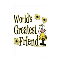 Friend Bumble Bee Posters