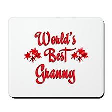World's Best Granny Mousepad