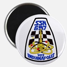 USS Indianapolis SSN 697 Magnet