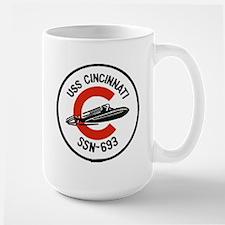USS Cincinnati Pride Runs Deep Mug