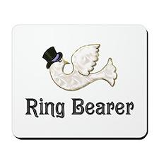 Dove & Tophat - Ringbearer Purple Mousepad