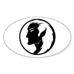 Dark Elf Oval Sticker