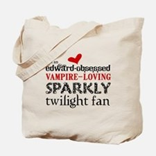 Sparkly Twilight Fan Tote Bag