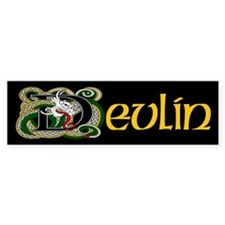 Devlin Celtic Dragon Bumper Stickers