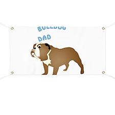 Bulldog Dad Banner