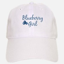 Blueberry Girl Baseball Baseball Cap