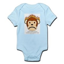Intelligent Design Makes My Monkey Mad Infant Cree