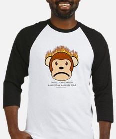 Intelligent Design Makes My Monkey Mad Baseball Je