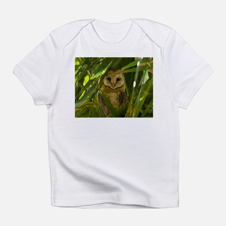 Palm Tree Owlet Infant T-Shirt