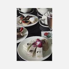 Grand Hotel Tea Rectangle Magnet