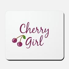 Cherry Girl Mousepad