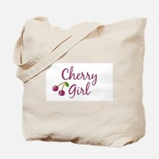 Cherry Girl Tote Bag