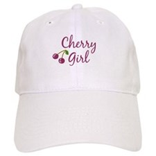 Cherry Girl Baseball Cap