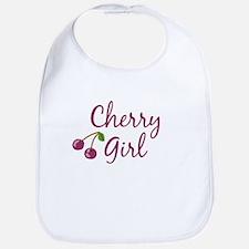 Cherry Girl Bib