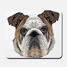 Bulldog Art Mousepad