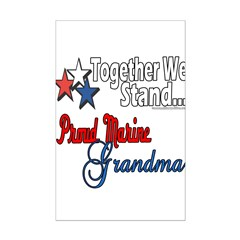 Marine Grandmother Posters