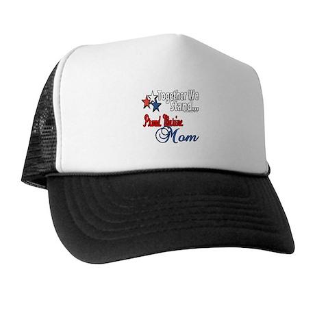 Proud Marine Mom Trucker Hat