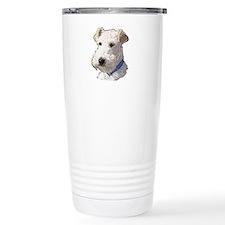 Wire Fox Terrier Ceramic Travel Mug