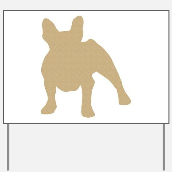 French Bulldog Yard Sign