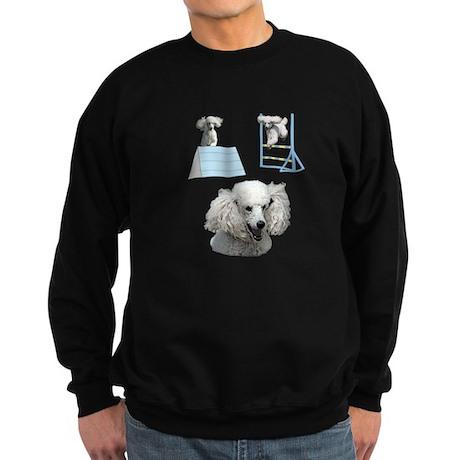 Run Poodle Run Sweatshirt (dark)
