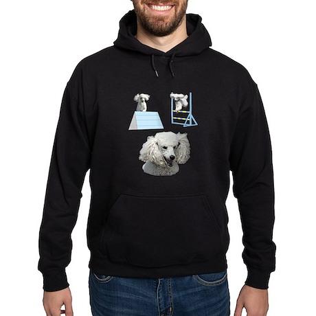 Run Poodle Run Hoodie (dark)