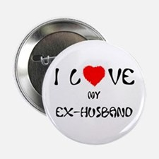 I Love My Ex-Husband Button