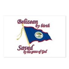 Belizean by birth Postcards (Package of 8)