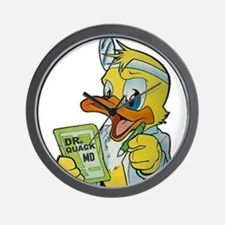 Quackery the Duck, MD Wall Clock