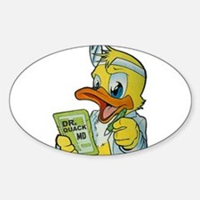 Quackery the Duck, MD Decal