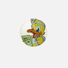 Quackery the Duck, MD Mini Button