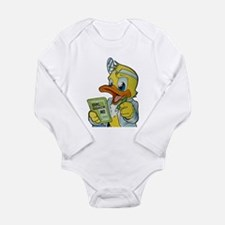 Quackery the Duck, MD Long Sleeve Infant Bodysuit