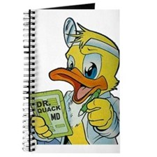 Quackery the Duck, MD Journal