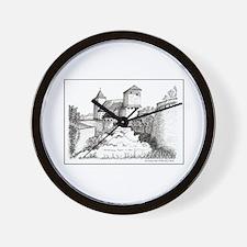 Nuremburg Castle Wall Clock