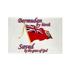 Bermudan by birth Rectangle Magnet (10 pack)