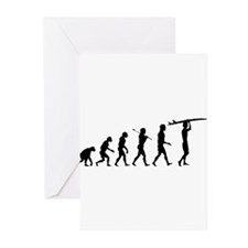 Surfing Evolution Greeting Cards (Pk of 20)