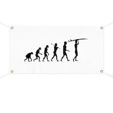 Surfing Evolution Banner
