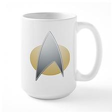 Star Trek TNG Logo Mug