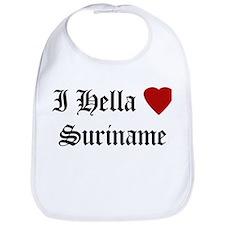Hella Love Suriname Bib