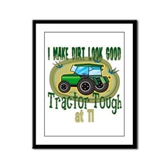 Tractor Tough 11th Framed Panel Print