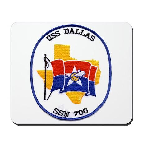 USS Dallas SSN 700 Mousepad
