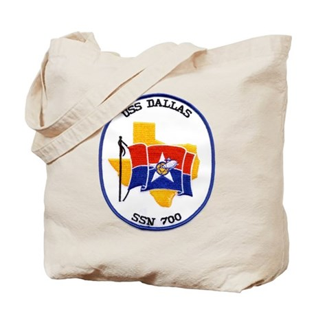 USS Dallas SSN 700 Tote Bag